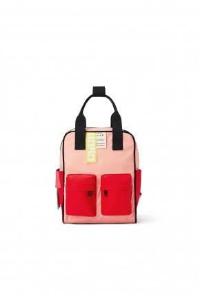 حقيبة ظهر اطفال بناتي بجيوب بارزة