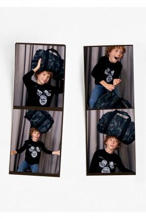 حقيبة يد اطفال ولادية مموهة