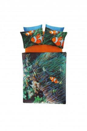 طقم غطاء سرير مزدوج بطبعة نيمو