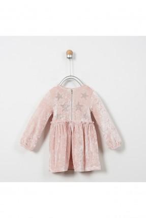 فستان اطفال بناتي مزين بنجوم