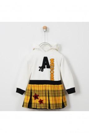 فستان اطفال بناتي مع كتابة