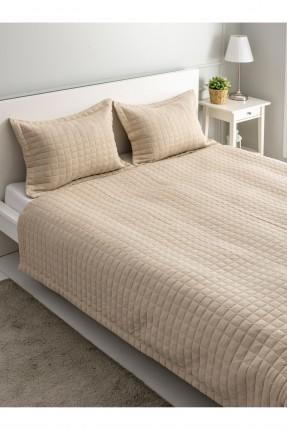 طقم غطاء سرير مزدوج مربعات