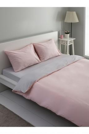 طقم غطاء سرير مزدوج ذو وجهين