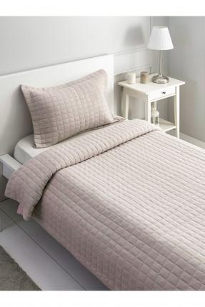 طقم غطاء سرير فردي مربعات