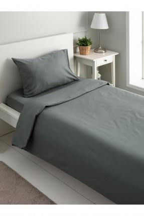 طقم غطاء سرير فردي سادة