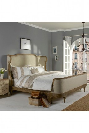 طقم غطاء سرير مزدوج مزين بخطوط