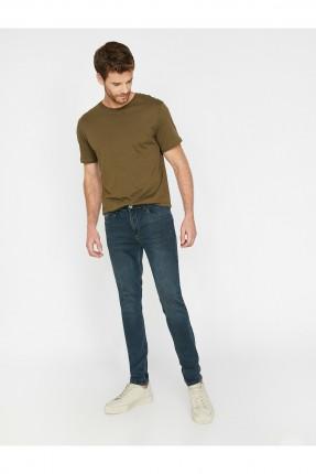 بنطال رجالي جينز بكحته