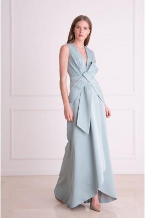 فستان رسمي شيك طويل حفر