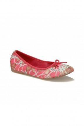 حذاء اطفال بناتي بنقشة ورود