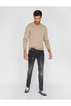 بنطال رجالي جينز مموج