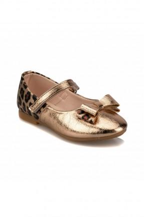 حذاء اطفال بناتي بنقشة جلد النمر