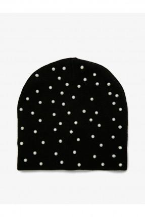 قبعة نسائية مزينة بالخرز