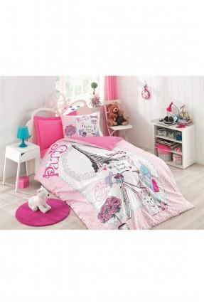 طقم غطاء سرير اطفال مزين برسومات