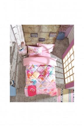 طقم لحاف سرير اطفال مزينة برسمة خريطة