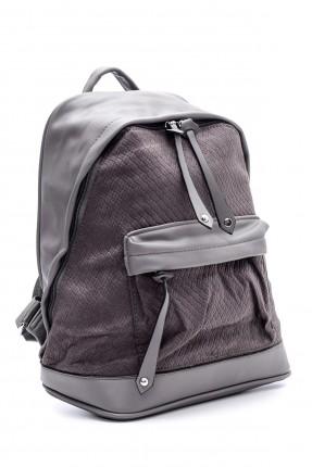 حقيبة ظهر نسائية بجيب