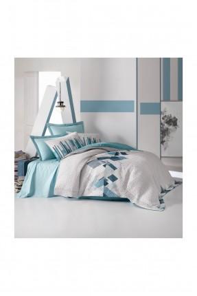طقم غطاء سرير فردي مزخرف