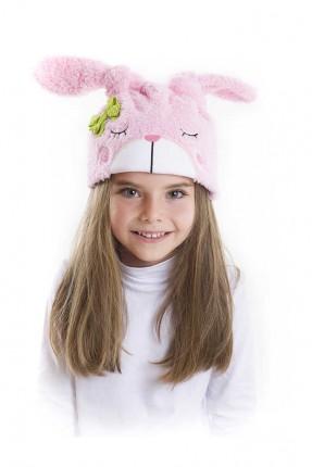 قبعة اطفال بناتي مزين برسومات