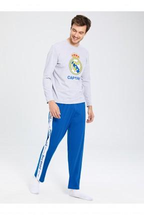 بيجاما رياضية رجالي بطبعة شعار ريال مدريد