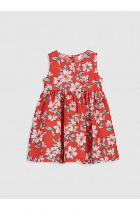 فستان بيبي بناتي بنقشة ورود