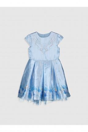 فستان اطفال بناتي برسم Frozen