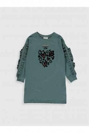 فستان اطفال بناتي برسمة قلب