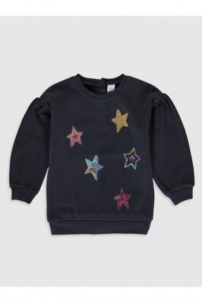 كنزة اطفال بناتي بنقشة نجوم
