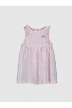 فستان بيبي بناتي مخطط