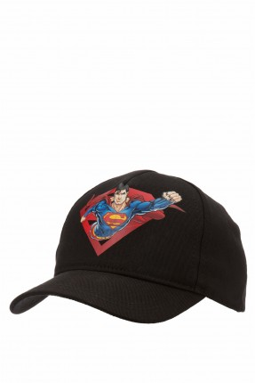قبعة اطفال ولادية بطبعة سوبر مان