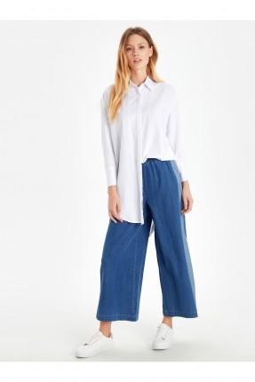 بنطال جينز نسائي واسع
