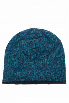 قبعة اطفال ولادية بنقشة