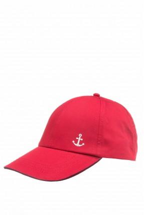 قبعة اطفال ولادية بطبعة مرساة