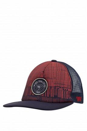 قبعة اطفال ولادية منقطة