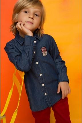 قميص اطفال ولادي جينز