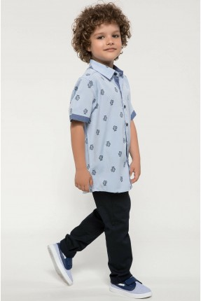 قميص اطفال ولادي بنقشة صبارة