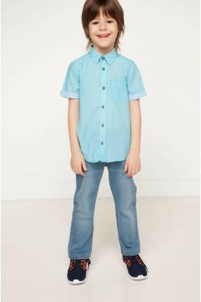 قميص اطفال ولادي نصف كم