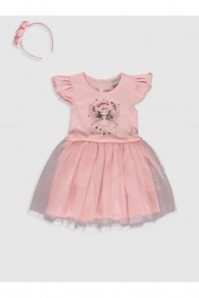 فستان اطفال بناتي بطبعة فتاة