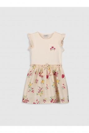 فستان اطفال بناتي مزين بالورود