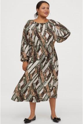 فستان سبور بنقشة