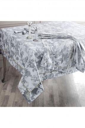 غطاء طاولة مزخرفة بورود