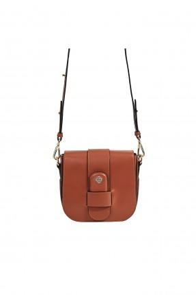 حقيبة يد نسائية جلد بحزام