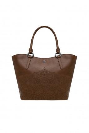 حقيبة يد نسائية بزخرفة