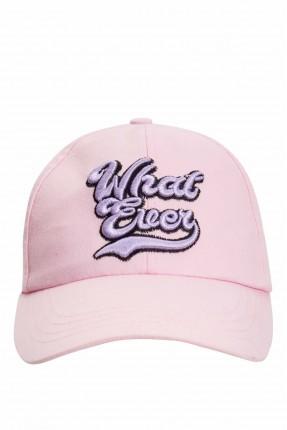 قبعة نسائية بطبعة كتابة