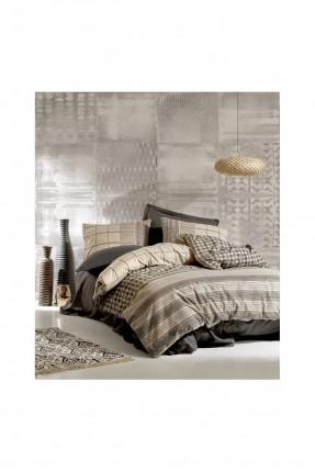 طقم غطاء سرير مزدوج كاروهات