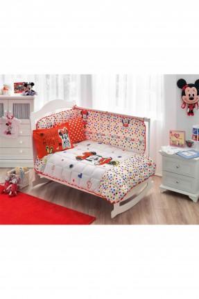 طقم لحاف سرير بيبي بطبعة ميني ماوس