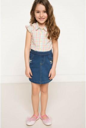 تنورة جينز اطفال بناتي
