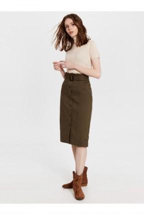 تنورة قصيرة سبور بازرار امامية
