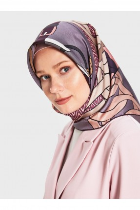 حجاب تركي بنقشة
