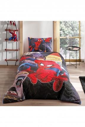 طقم غطاء سرير اطفال ولادي بطبعة سبايدرمان