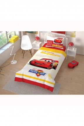 طقم غطاء سرير اطفال ولادي بطبعة سيارة