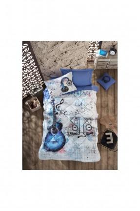 طقم غطاء سرير فردي برسومات